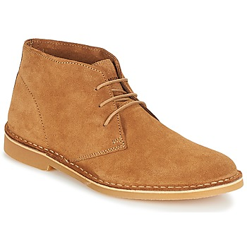 Chaussures Homme Boots Selected SHH ROYCE LIGHT SUEDE BOOT Cognac