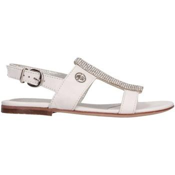 Chaussures Fille Sandales et Nu-pieds Blumarine B3624 Sandales Enfant Blanc Blanc