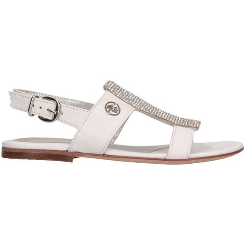 Chaussures Fille Sandales et Nu-pieds Blumarine B3624 Blanc