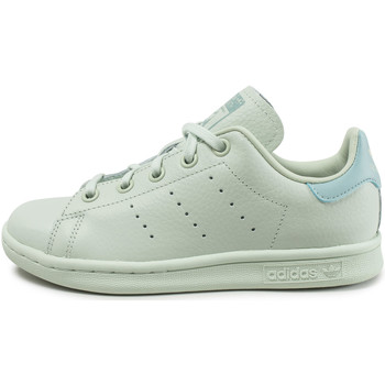 Chaussures Enfant Baskets basses adidas Originals Stan Smith EnfantPastel Vert