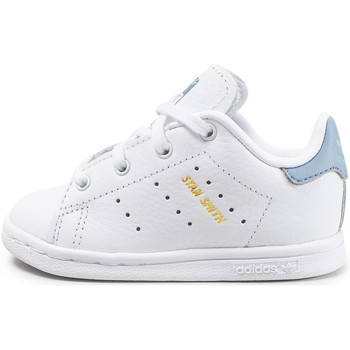 Chaussures Enfant Baskets basses adidas Originals Stan Smith Bébé hee Bleu