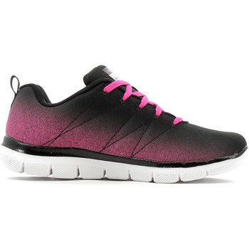 Chaussures Fille Baskets basses Skechers Skech Appeal 2.0 Black / Hot Pink