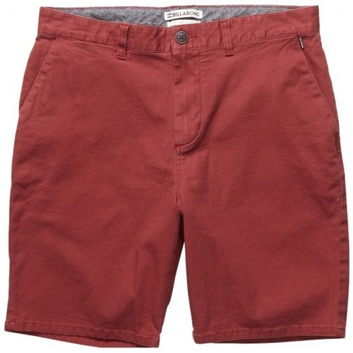 Vêtements Homme Shorts / Bermudas Billabong Short  New Order Walkshort - Fig Rouge