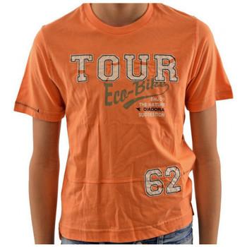 Vêtements Enfant T-shirts manches courtes Diadora T-shirt T-shirt
