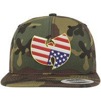Accessoires textile Casquettes Wu Tang Casquette Wu Wear American Camo Snapback Camouflage