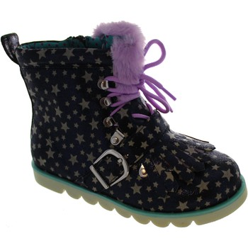 Chaussures Fille Boots Irregular Choice Baby Step Mama Violet