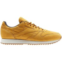 Chaussures Homme Baskets basses Reebok Sport CL LEATHER RIPPL Jaune