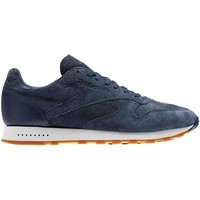 Chaussures Homme Baskets basses Reebok Sport CL LEATHER SG Bleu