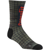 Accessoires Chaussettes Reebok Sport Chaussettes Crew CrossFit Printed Green