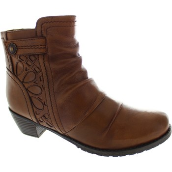 Chaussures Femme Bottines Lotus Maples marron