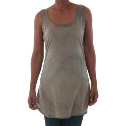 Vêtements Femme Débardeurs / T-shirts sans manche Fornarina BILSTON_GOLD Marrón