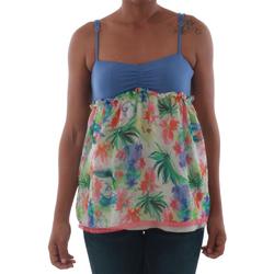 Vêtements Femme Débardeurs / T-shirts sans manche Fornarina VIOLAINE_MULTICOLOR Azul