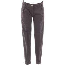Vêtements Femme Chinos / Carrots Fracomina FRA07604 Gris
