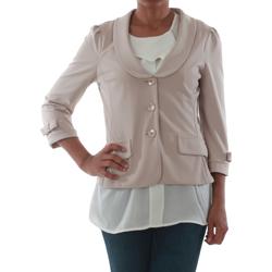 Vêtements Femme Vestes / Blazers Rinascimento 1022_BEIGE Beige