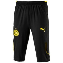 Vêtements Homme Shorts / Bermudas Puma PANTALON FOOTBALL BORUSSIA DORTMUND BVB 3/4 TRAINING PANT noir