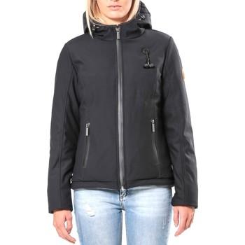 Vêtements Femme Blousons 80DB Original Blouson ML Capuche - Ecouteurs inclus 80DB Sally Carbon Noir