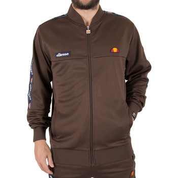 Vêtements Homme Sweats Ellesse Homme Squad Zip Tracktop Jacket, Marron marron