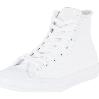 Chaussures Homme Baskets montantes Converse Homme CT AllStar Leather Trainers, Blanc blanc