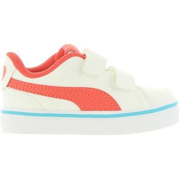 Chaussures Enfant Baskets basses Puma 362949 COURT Blanco