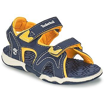 Chaussures Enfant Sandales et Nu-pieds Timberland ADVENTURE SEEKER 2-STRAP SANDAL Bleu