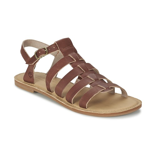 Chaussures Femme Sandales et Nu-pieds Timberland EARTHKEEPERS® SHEAFE FISHERMAN Marron clair