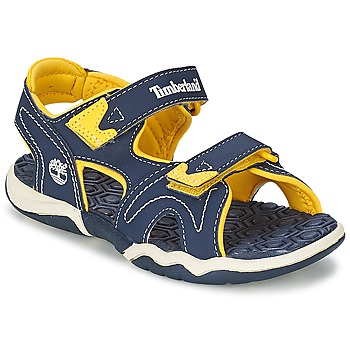 51b73eb6477c5 Chaussures Enfant Sandales et Nu-pieds Timberland ADVENTURE SEEKER 2-STRAP SANDAL  Bleu