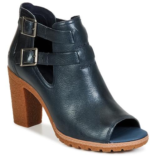 Bottines / Boots Timberland EARTHKEEPERS® GLANCY PEEP TOE Bleu nuit 350x350
