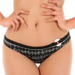 Vêtements Femme Maillots de bain séparables Curvy Kate Bas de maillot taille basse Euphoria monochrome Noir