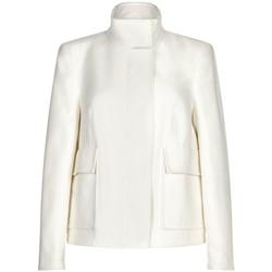 Vêtements Femme Vestes / Blazers Anastasia -Femme Creme Court Hiver Veste White