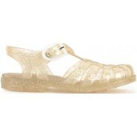 Chaussures Fille Sandales et Nu-pieds Méduse Sandales méduses pailletées SUN 201 Doré