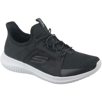 Chaussures Femme Baskets basses Skechers Ultra Flex Graphite,Blanc