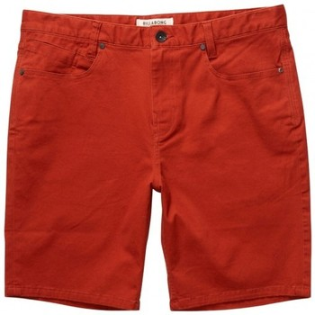 Vêtements Homme Shorts / Bermudas Billabong Short  Outsider 5 Pockets - Red Clay Rouge