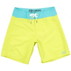 Vêtements Garçon Maillots / Shorts de bain Billabong Boardshort  All Day Cut Og 15 - Neo Lime Jaune