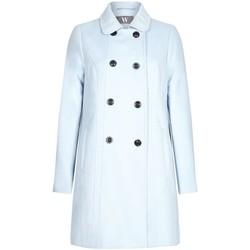 Vêtements Femme Manteaux Bhs Femme Bleu Boutons Hiver Manteux Blue