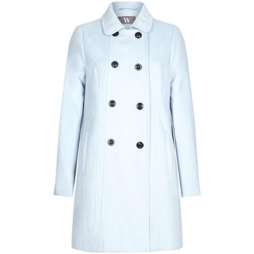 Vêtements Femme Manteaux Bhs Femme Bleu Boutons Hiver Mantel Bleu