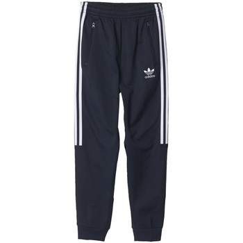 Vêtements Garçon Pantalons de survêtement adidas Originals Pantalon de Jogging Garçon CLR84 Bleu Bleu