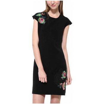 Vêtements Femme Robes courtes Desigual Robe Brendan Noir 17WWVWB6 38