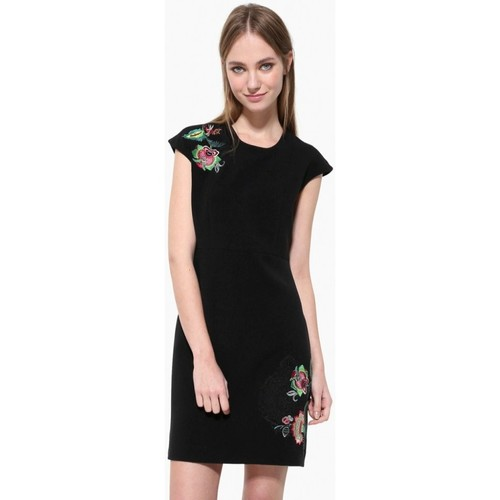 Vêtements Femme Robes courtes Desigual Robe Brendan Noir 17WWVWB6 Noir