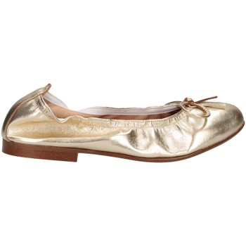 Chaussures Fille Ballerines / babies Papanatas 9127 ORO Ballerines Enfant Or Or