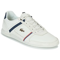 Chaussures Homme Baskets basses Lacoste MENERVA 118 1 Blanc