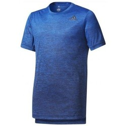 Vêtements Garçon T-shirts manches courtes adidas Originals - T-SHIRT TRAINING GRADIENT JUNIOR bleu
