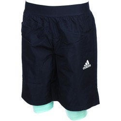 Vêtements Garçon Shorts / Bermudas adidas Originals Yb 2in1 navy short jr Bleu marine / bleu nuit