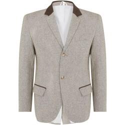 Vêtements Homme Vestes / Blazers De La Creme Turin Brown