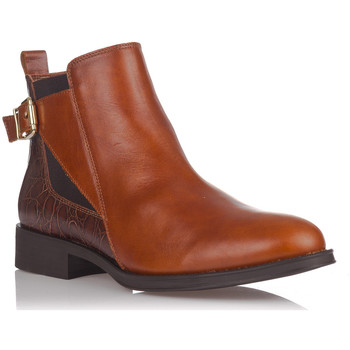 Chaussures Bottines Zapp 5041 Marron