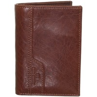 Sacs Homme Portefeuilles David William Portefeuille  en cuir ref_lhc41356-marron-12*8*2 marron