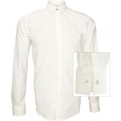 Vêtements Homme Chemises manches longues Andrew Mc Allister chemise tendance new weave beige Beige