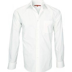 Vêtements Homme Chemises manches longues Andrew Mc Allister chemise tissu armure saint james beige Beige