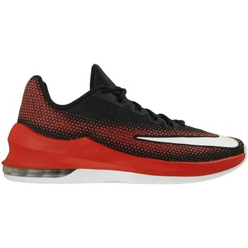 Chaussures Homme Baskets basses Nike Air Max Infuriate Low Blanc-Noir-Rouge