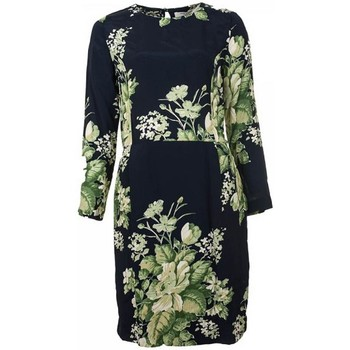 Vêtements Femme Robes Nice Things FLORAL PRINT Bleu Vert