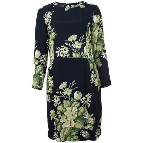 Vêtements Femme Robes Nice Things FLORAL PRINT Bleu Vert